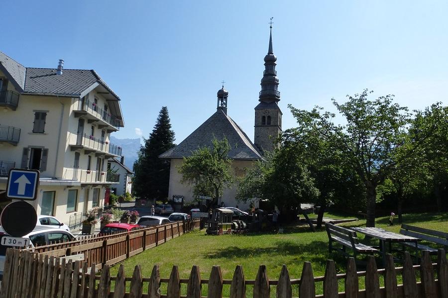 Die Barock-Kirche von Combloux