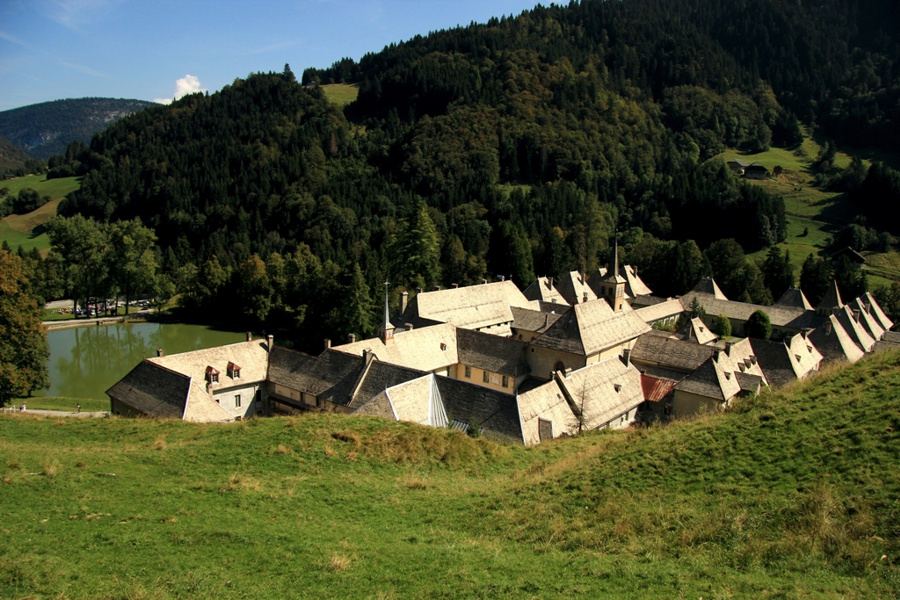 Das Karmelitinnen-Kloster von Reposoir