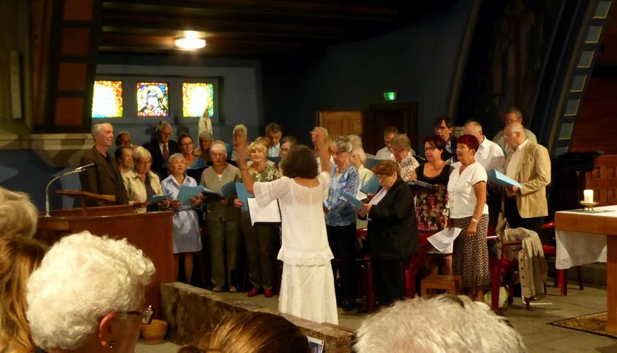 Gottesdienst u.a. mit dem Ev. Kirchenchor Waldbronn - Erinnerung an Jean-Pierre Lutz