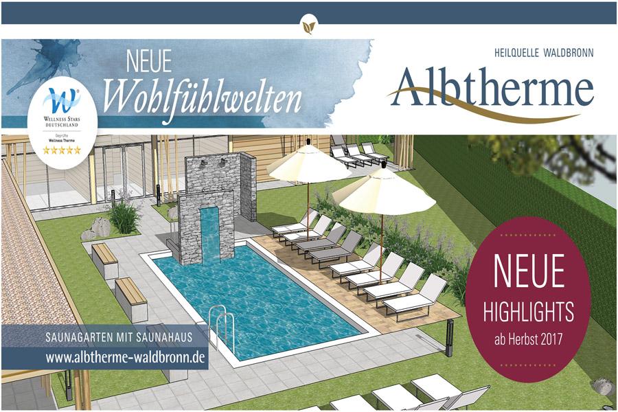 Albtherme Waldbronn Umbau 2017