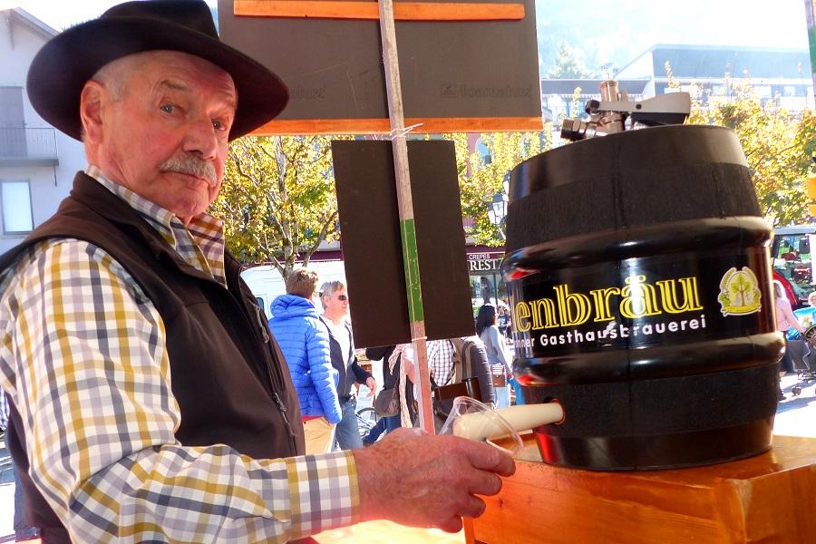 Bier marsch bei Peter Scheck