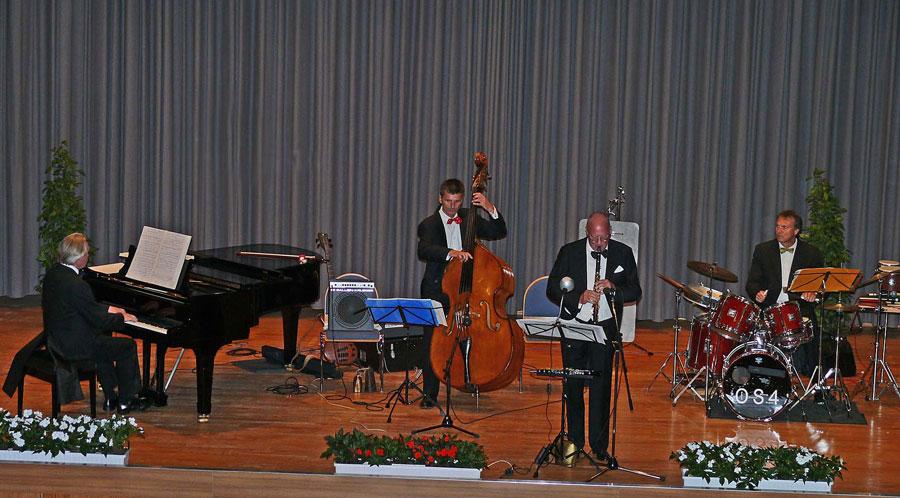 Mehrfach zu Gast: Das Opera-Swing Quartett