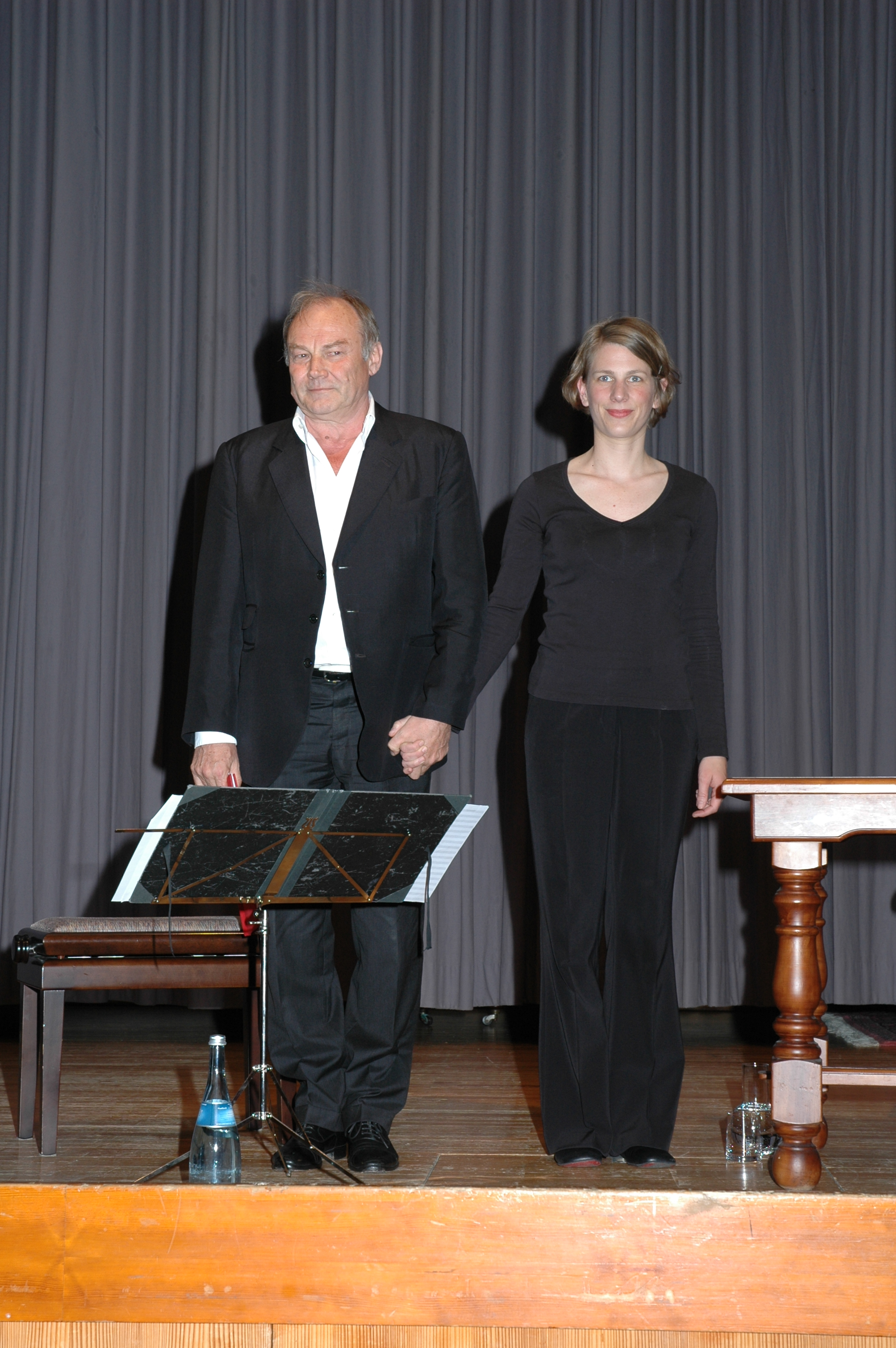 Klaus Maria Brandauer liest Mozart