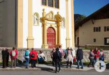 Am Ziel - die wunderschöne und sehr sehenswerte Barockkirche von St. Nicolas