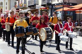 Harmonie Municipale beim Umzug