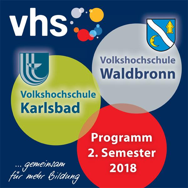 VHS Programmheft 2 2017