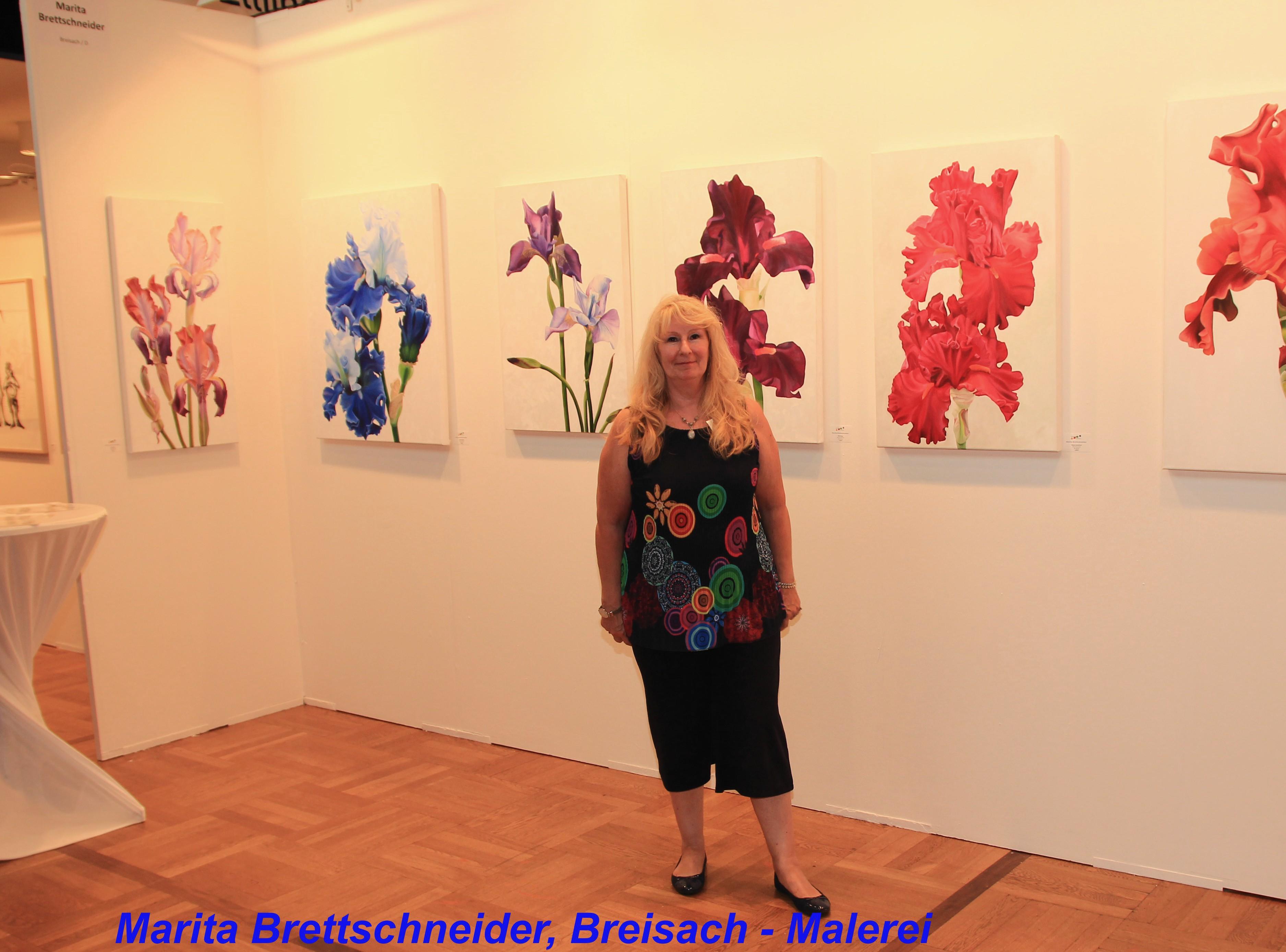 Marita Brettschneider, Breisach - Malerei
