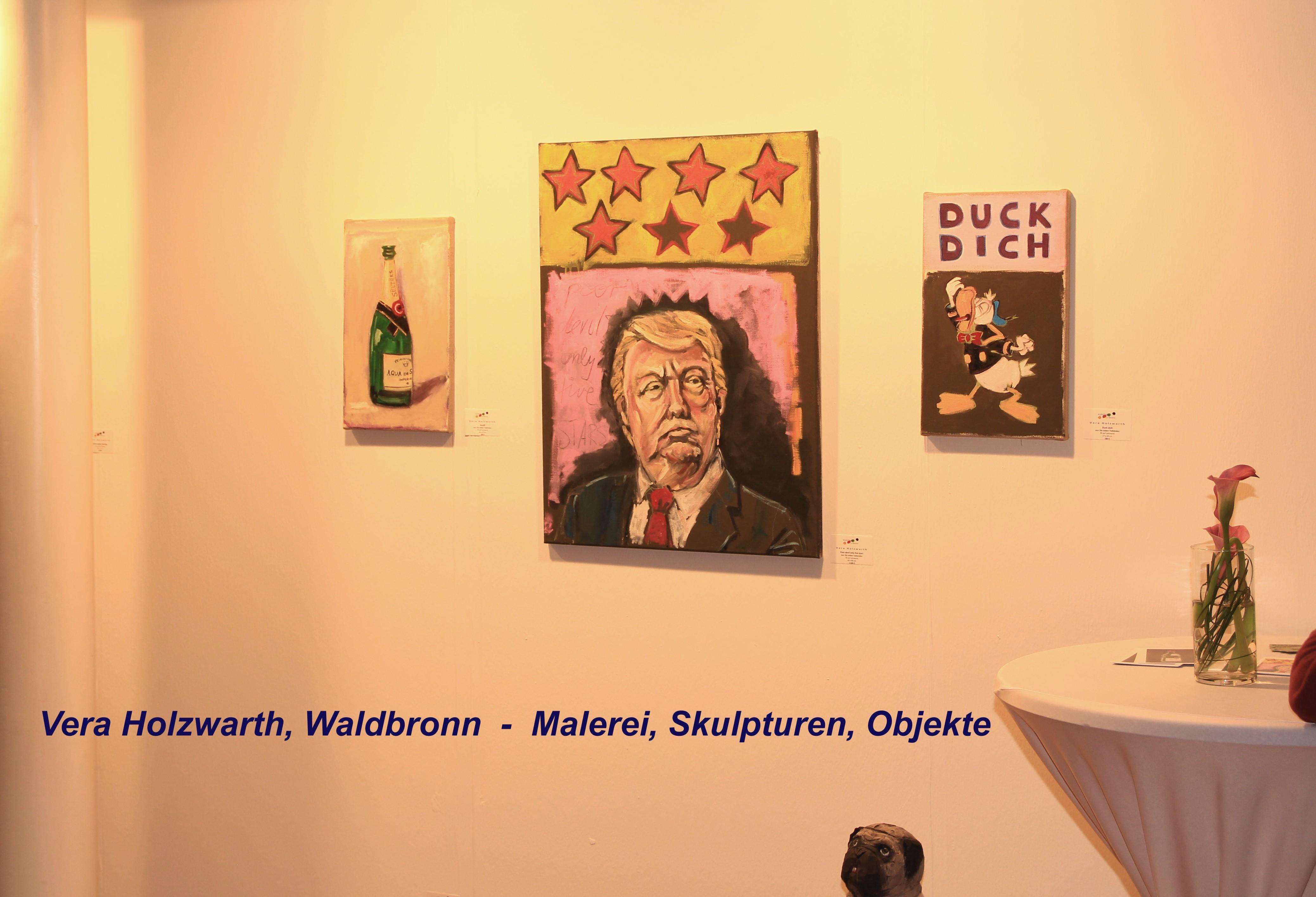 Vera Holzwarth, Waldbronn - Malerei, Skulpturen, Objekte