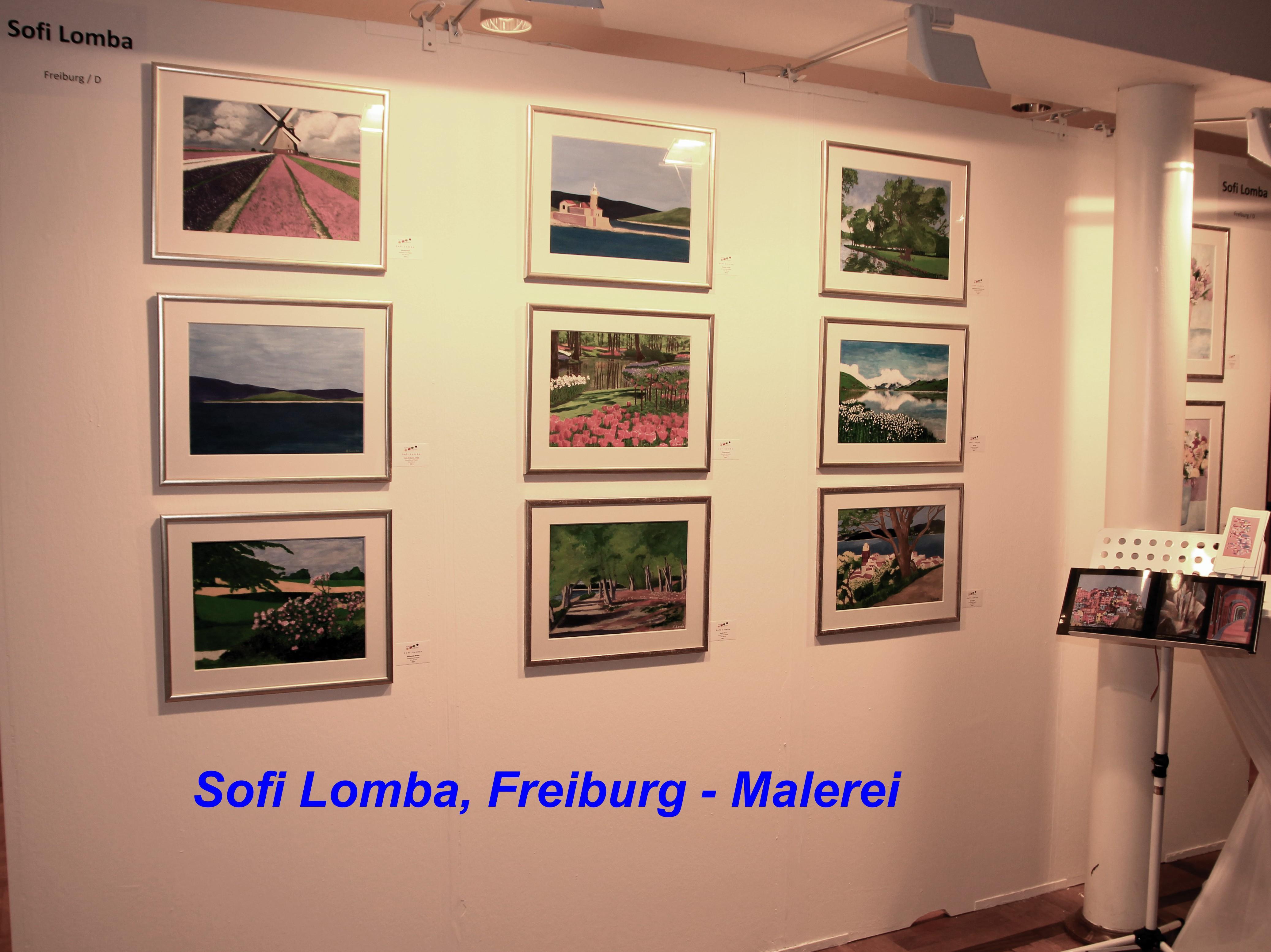 Sofi Lomba, Freiburg - Malerei