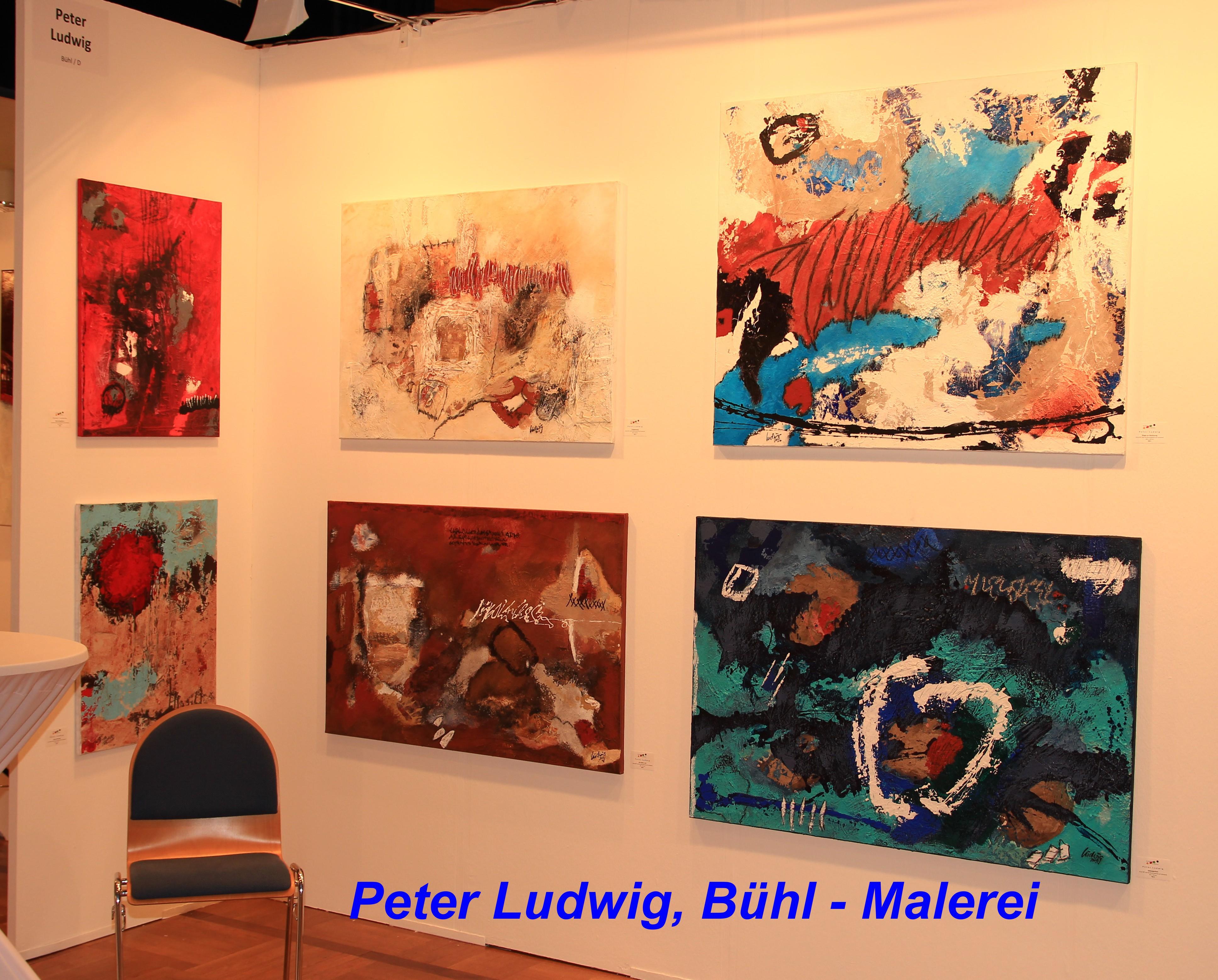 Peter Ludwig, Bühl - Malerei