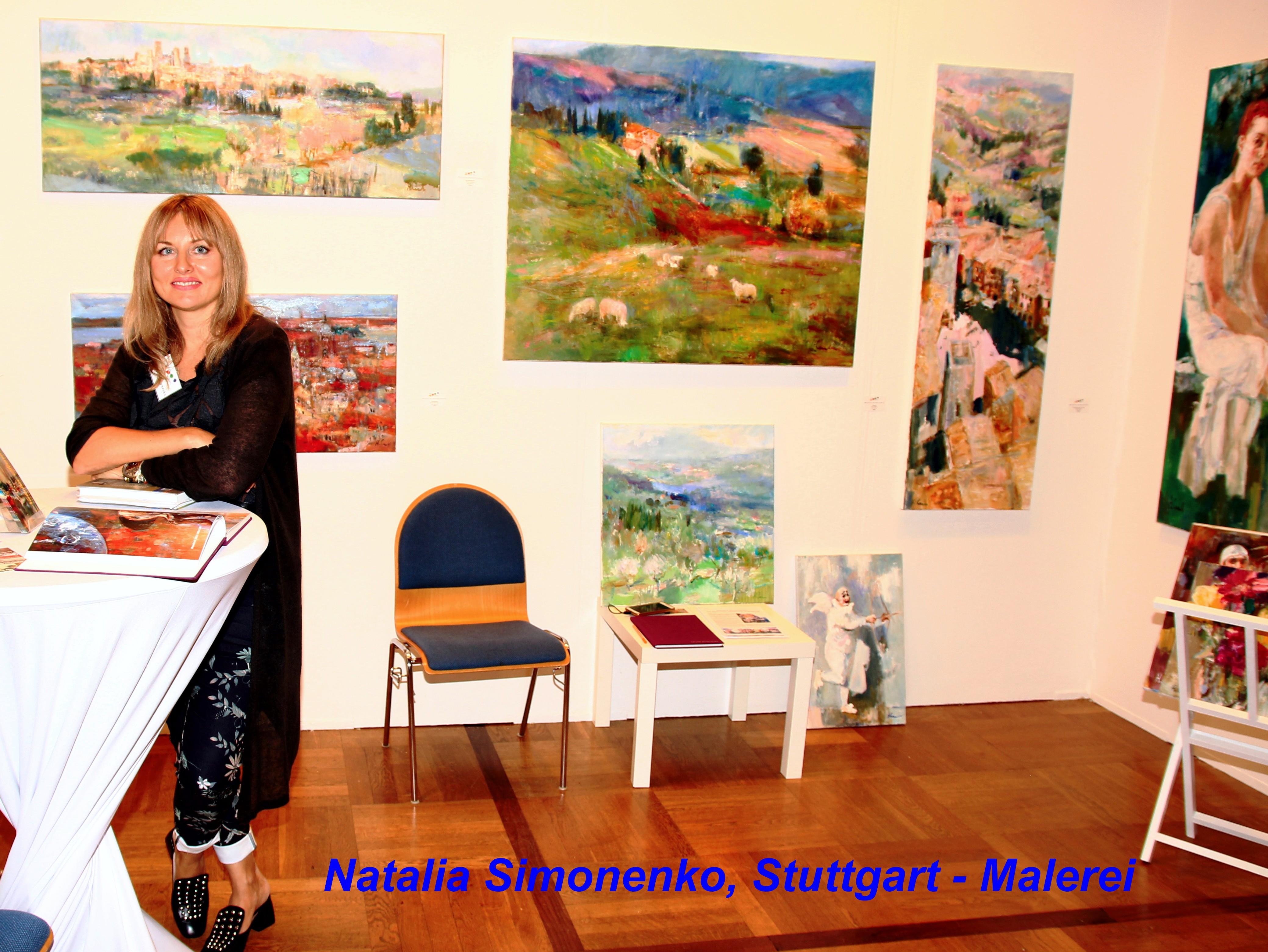 Matalia Simonenko, Stuttgart - Malerei