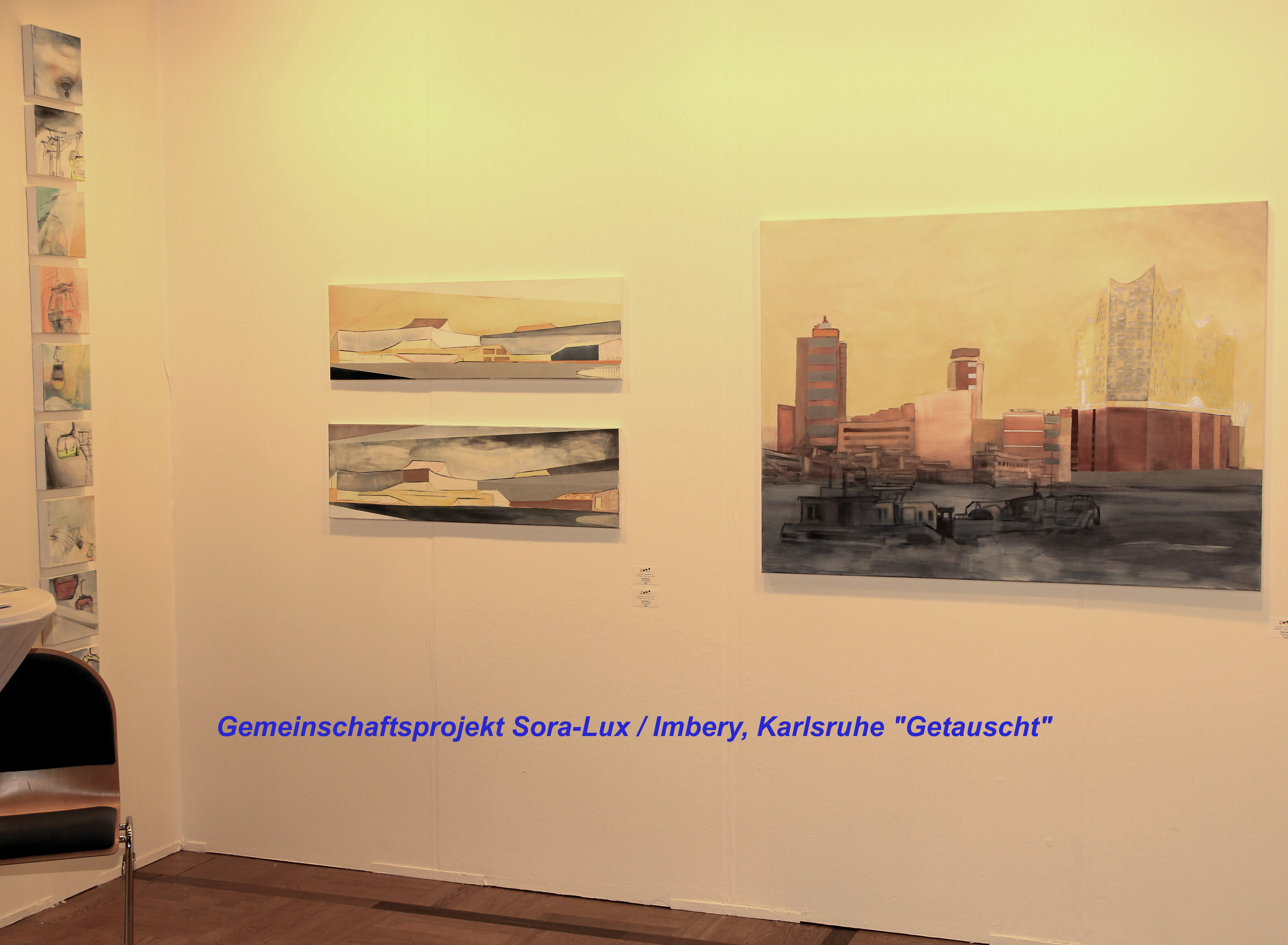 """Gemeinschaftsprojekt Sora-Lux / Imbery, Karlsruhe - """"Getauscht"""""""