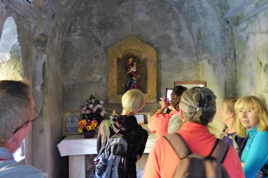 Die Madonna in der Nische