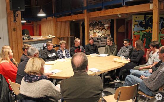 Jugendgemeinderat Waldbronn Verabschiedung und konstituierende Sitzung 18.12.2018