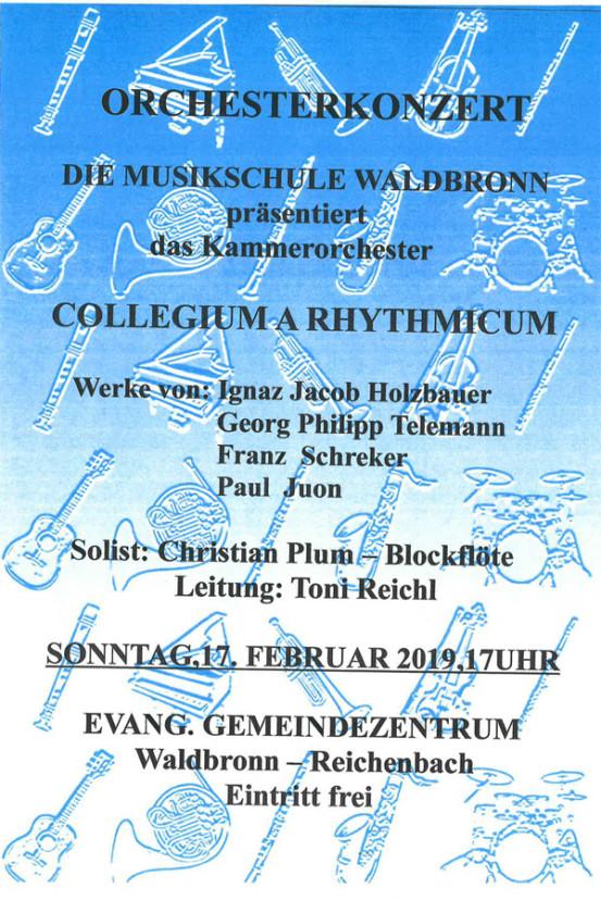 Kammerorchester Collegium Rhythmicum