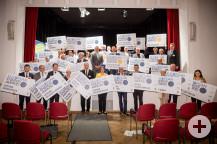 37 Städte, Gemeinden und Landkreise dürfen sich über die Auszeichnung freuen.