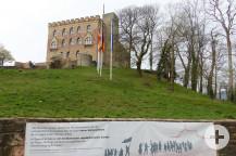 Das Hambacher Schloss - ein bedeutendes deutsches Bauwerk