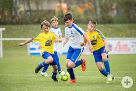 Voller Einsatz beim Spiel USMB Passy-St.Gervais gegen den TSV