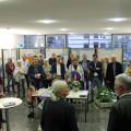 Ingeborg Jörg und Bürgermeister Franz Masino führten in die gut besuchte Wasserausstellung ein.