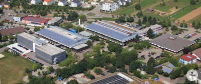 Agilent Technologies Waldbronn Luftaufnahme