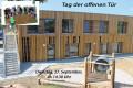 Kinderhaus Waldschatz Außenansicht Tag der öffenen Tür