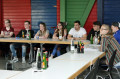 Karlsbader und Waldbronner Jugendliche durften bei dem Forum abstimmen.