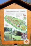 Vogellehrpfad im Kurpark