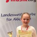 AccoMusica: Toller 2. Platz für Meike Dirrler beim Landesmusiktag 2019