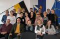 Eine russische Delegation zu Gast in Waldbronn. Bürgermeister Franz Masino empfing die Lehrer, Juristen und Studenten im Bürgersaal.    Foto: Gemeinde Waldbronn