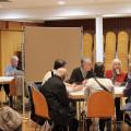 In kleinen Arbeitsgruppen konnten ebenfalls Wünsche, Bedenken und Anregungen geäußert werden.