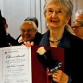 Die Vorstandsvorsitzende der Hospizstiftung Landkreis und Stadt Karlsruhe Liselotte Lossau wurde verabschiedet.