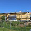 Die Arbeiten am Erweiterungsbau Don Bosco kommen gut voran.   Bild: Gemeinde Waldbronn
