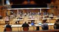 Unter Einhaltung der geltenden Abstandsregeln fand im Kurhaus die Gemeinderatssitzung statt.