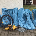 Insgesamt sind 12 Tüten Müll gesammelt worden.  Bild: Gemeinde Waldbronn