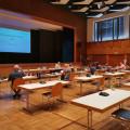 Der Ausschuss für Umwelt und Technik tagt im Kurhaus.  Bild: Gemeinde Waldbronn