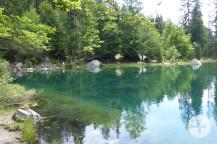 Spaziergang um den Lac vert