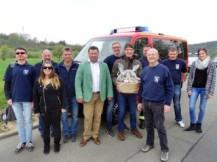 Busenbacher Feuerwehrkameraden in Stadtilm 2017