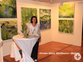 Kirsten Wüst, Waldbronn - Malerei