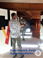Peter Nowack, Karlsruhe - Spiegelinstallation