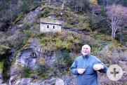 Kapelle am Berghang