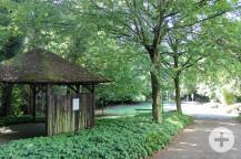 Der Therapiegarten soll umgestaltet werden.