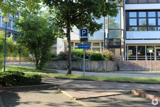 Ab sofort ist in der Talstraße der neue Standort für die Stadtmobile.