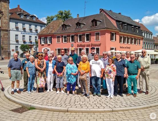 21 Gäste aus Waldbronns Partnergemeinde Monmouth besuchten in der vergangenen Woche ihre Freunde in Waldbronn. Ein Besuch in Speyer (hier entstand das Foto) stand unter anderem auf dem kurzweiligen Besuchsprogramm.