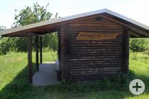 Die Wengertlenhütte bei Busenbach bleibt erhalten.