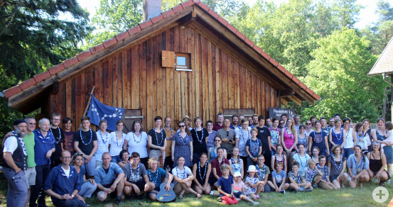 Einmal Pfadi, immer Pfadi - getreu diesem Motto trafen sich am vergangenen Wochenende aktive und ehemalige Pfadfinder zu einem zweitägigem Lager und feierten gemeinsam ihr 40-jähriges Bestehen.