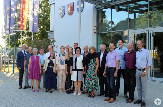 Der neue Gemeinderat wurde in der jünsten Sitzung vereidigt.