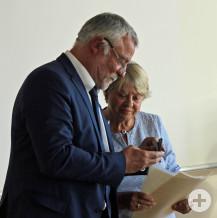 Knapp 35 Jahre war Marianne Müller Mitglied im Gemeinderat. Sie erhielt unter anderem die Bürgermedaille in Gold.