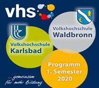 VHS Programmheft 2. Semester 2019