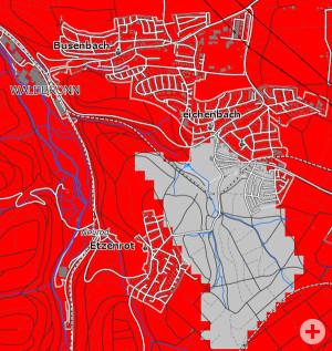 Grafik Geothermie Waldbronn