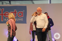 Modeschau mit Bürgermeister Masino